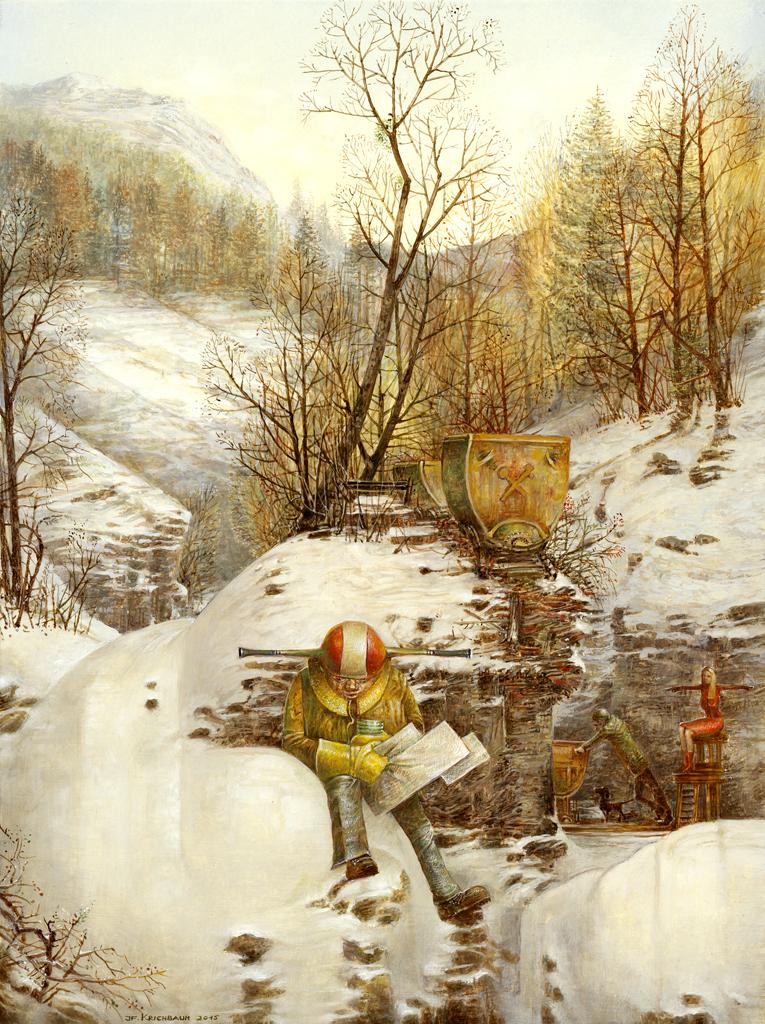 Leicht postindustrieller Wintertag<br />