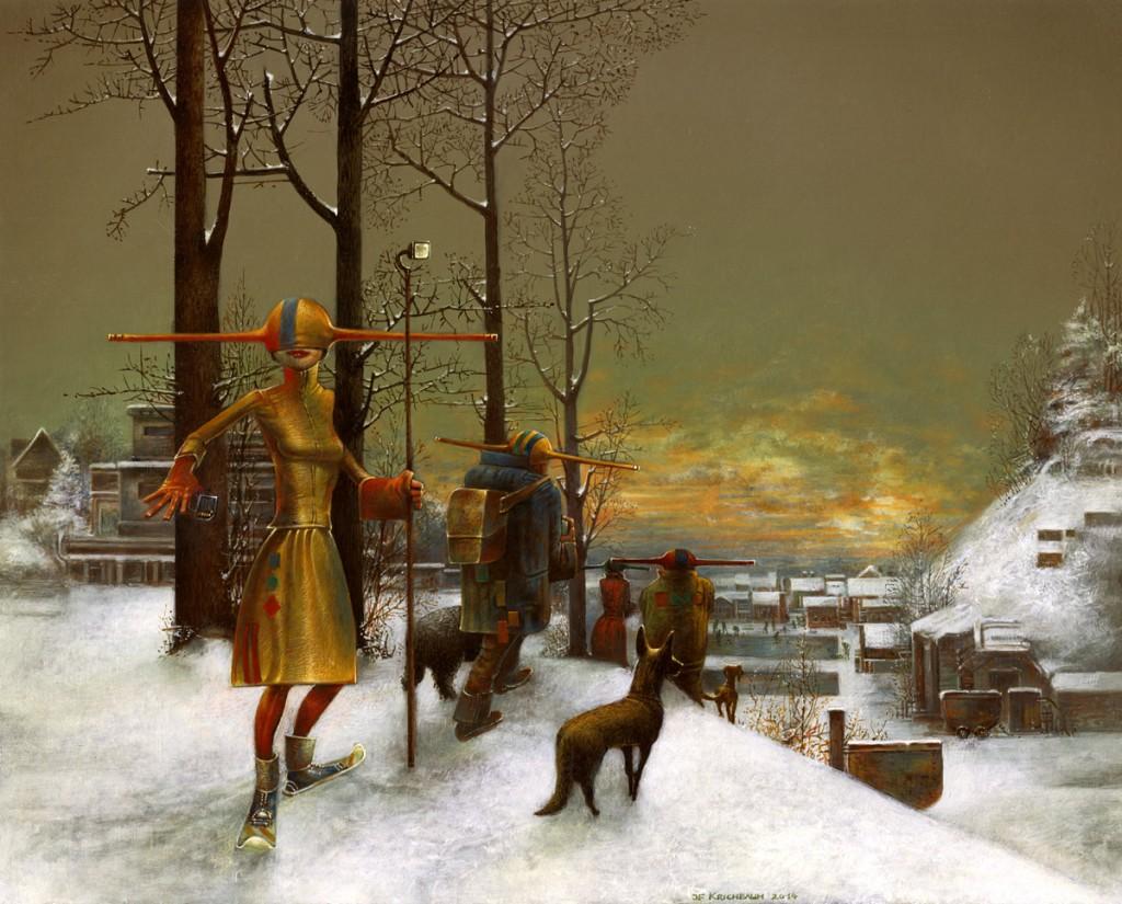 Rückkehr der Wächter - Wächter im Schnee