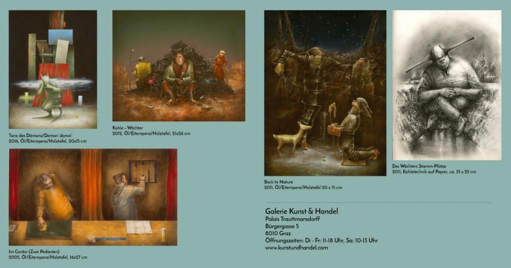 aktuelle Gemälde Kunst & Handel Graz